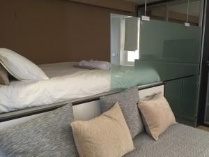 sitges-studio-cama-matrimonial